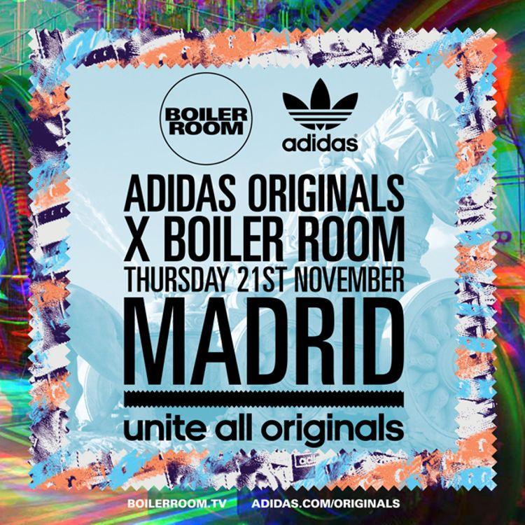 ¡Boiler Room en Madrid!