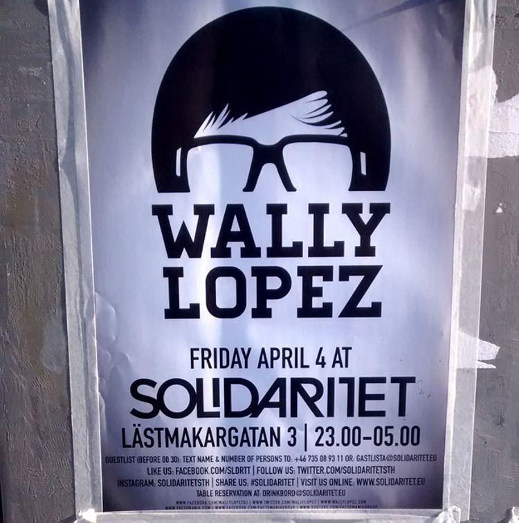 El día que iba a ver a Wally López en Estocolmo y me echaron por español