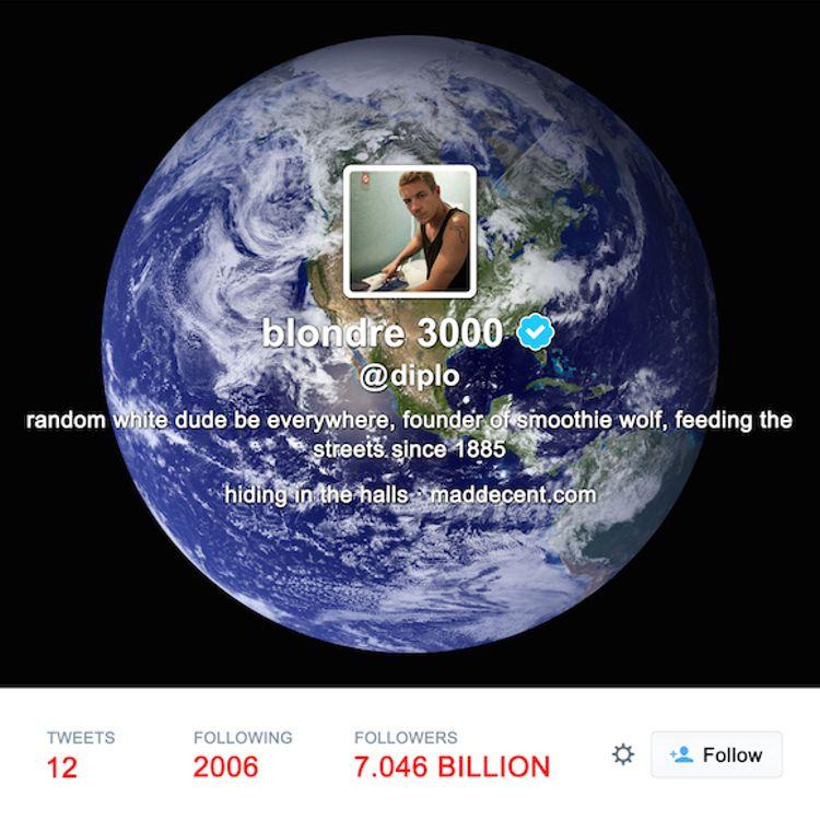 """Diplo no es más que un """"Random White Dude Be Everywhere"""" en su último álbum"""