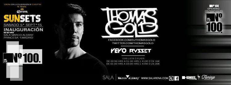 Club Nº 100 arranca con Thomas Gold  [+SORTEO]