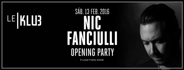 Nic Fanciulli inaugura una nueva sesión en Madrid: Le Klub