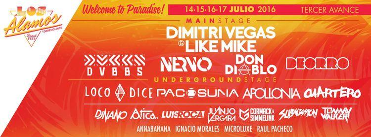 Los Álamos Beach Festival re-evoluciona con nuevas sorpresas (escenario + djs)