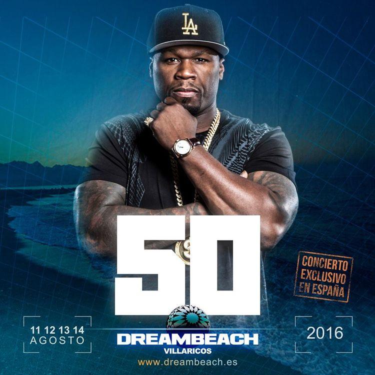 50 Cent visitará España gracias a Dreambeach Villaricos