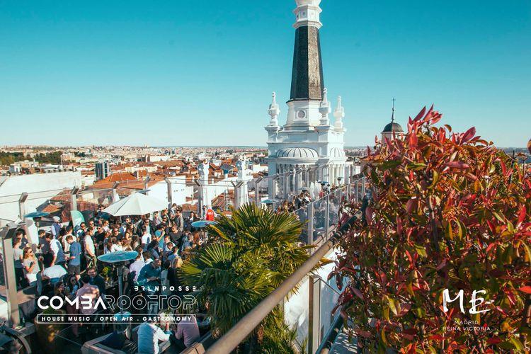 Comba Rooftop se cita el 29/05 con La Terrrazza Bcn desde el cielo de Madrid