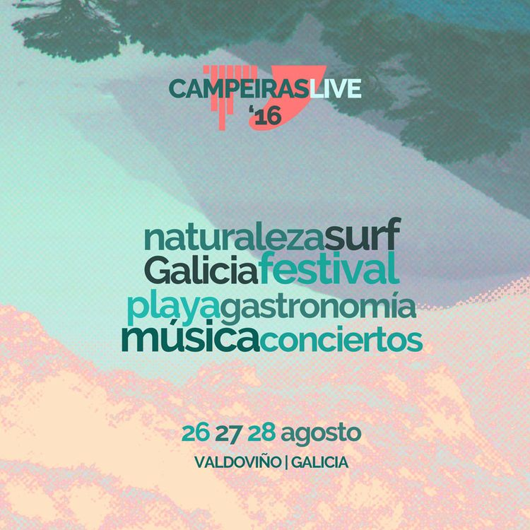 Campeiras Live: música y surf vuelven a unirse