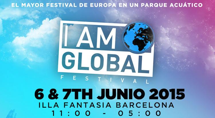 I Am Global (Barcelona), el mayor festival de Europa en un parque acuático [[+ SORTEO ABONO DOBLE]]
