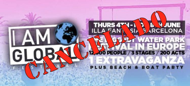 I Am Global: Cancelación de un festival (des)anunciada