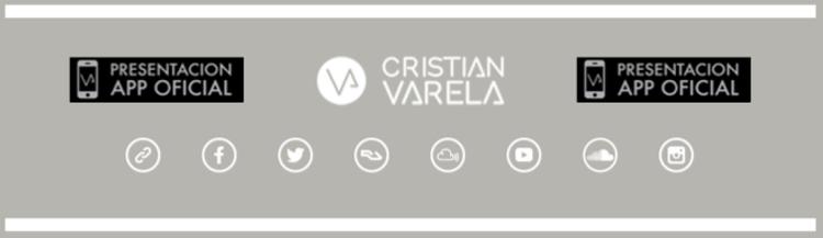 Próximos proyectos de Cristian Varela: Nueva APP para smartphones y lanzamiento de su nuevo single