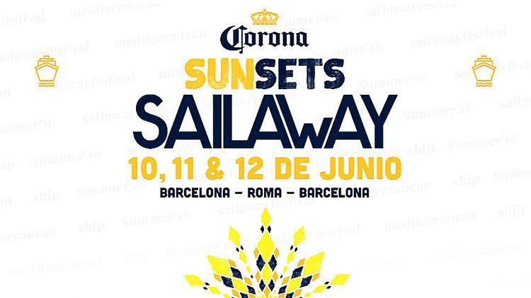UK House y ferry de lujo... zarpa Corona Sunsets Sail Away
