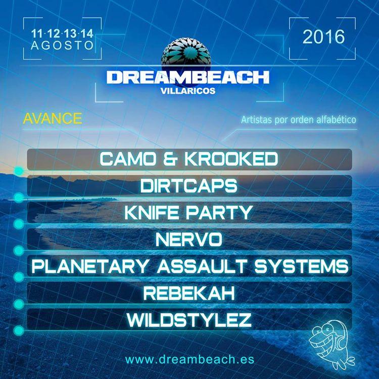 Dreambeach Villaricos 2016 suma y sigue