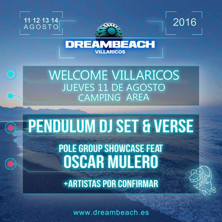 dreambeach villaricos 2016 welcome