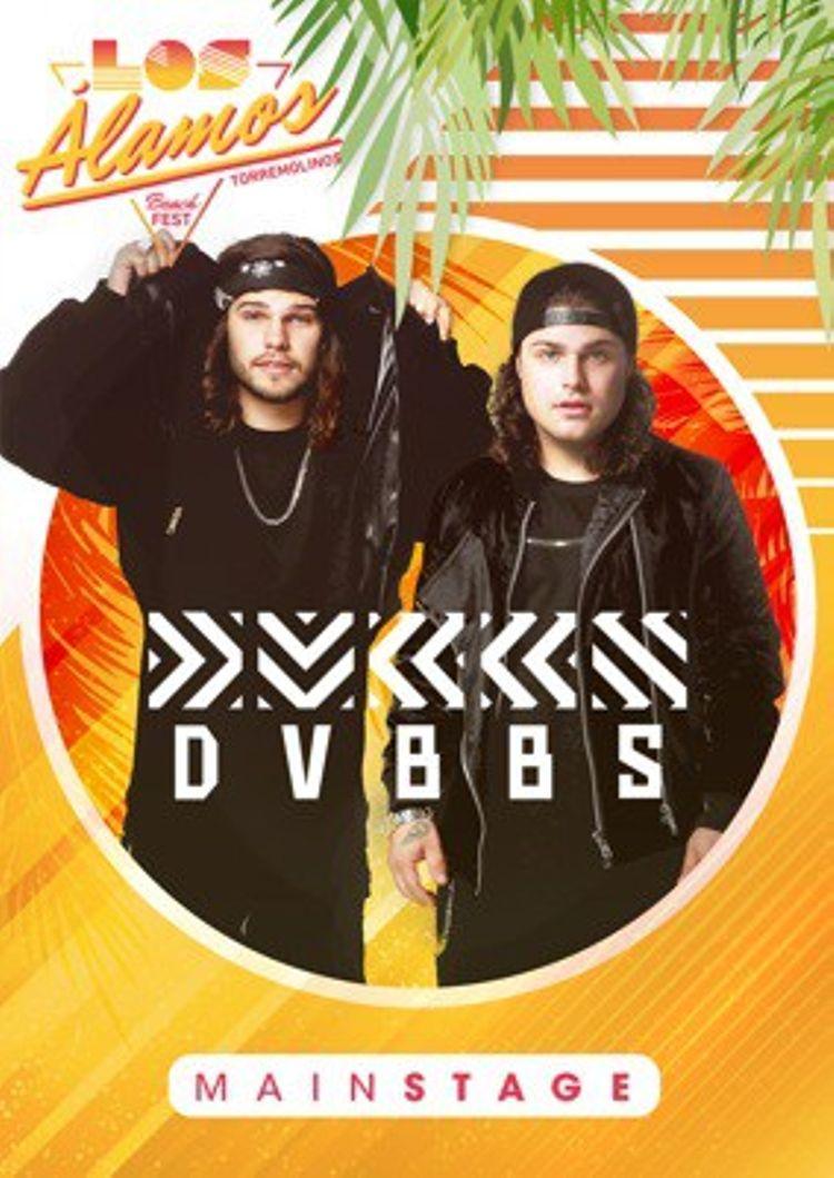 DUBS DVBBS confirmado Los alamos Beach Festival