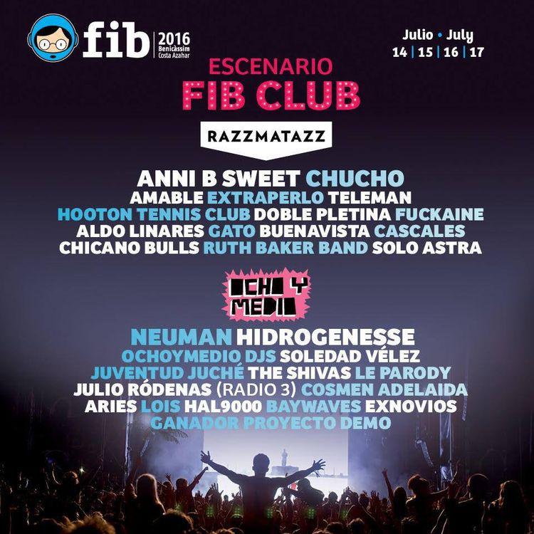 FIB 2016 club