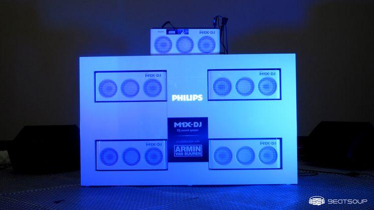 Presentación de Philips MX1-DJ, auriculares A5-PRO DJ y masterclass con Armin Van Buuren