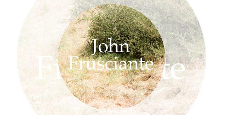 """John Frusciante, ex de RHCP, regala su arte a su """"no audiencia"""""""