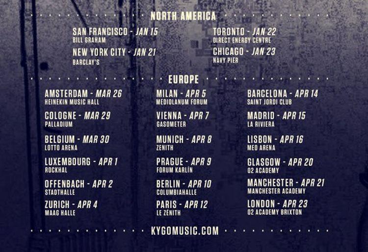 Kygo Tour _