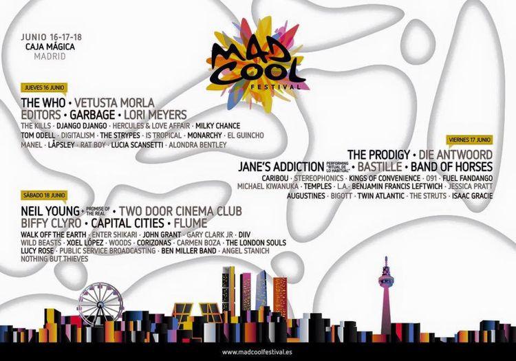 Mad Cool Festival dias
