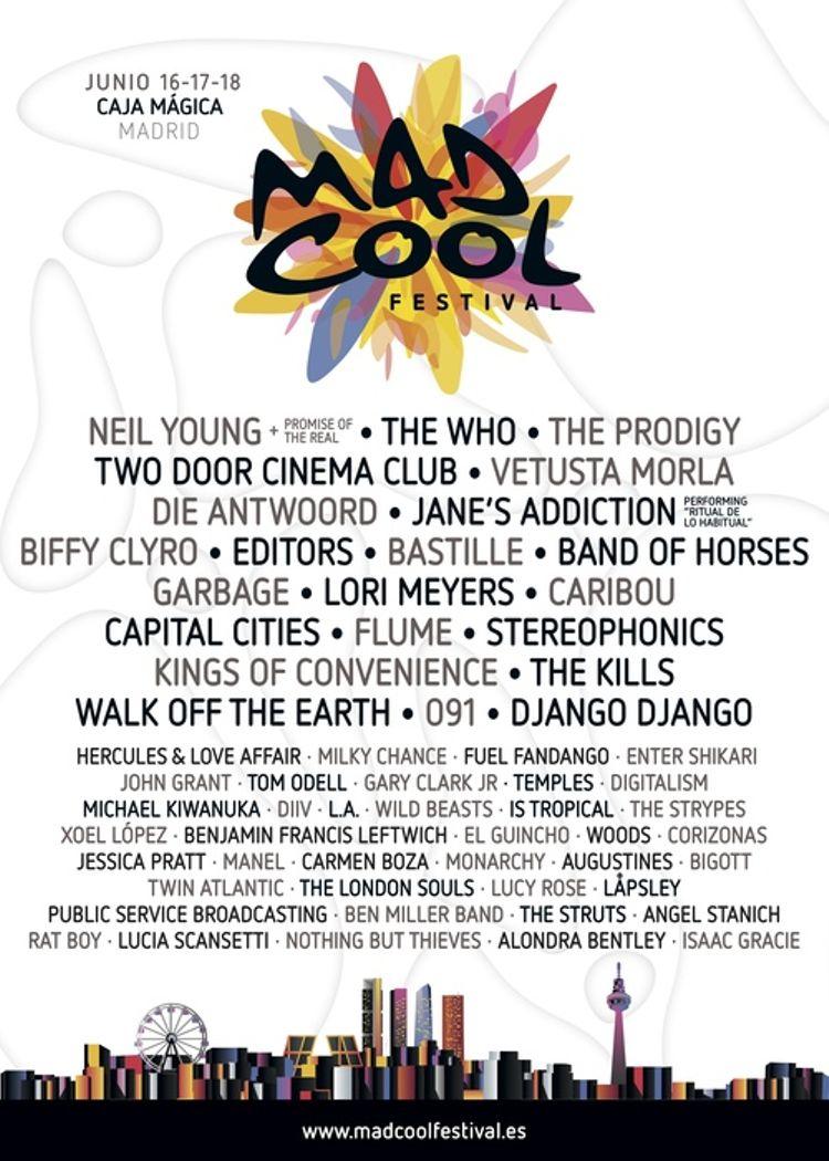 The Who corona la primera edición de Mad Cool Festival