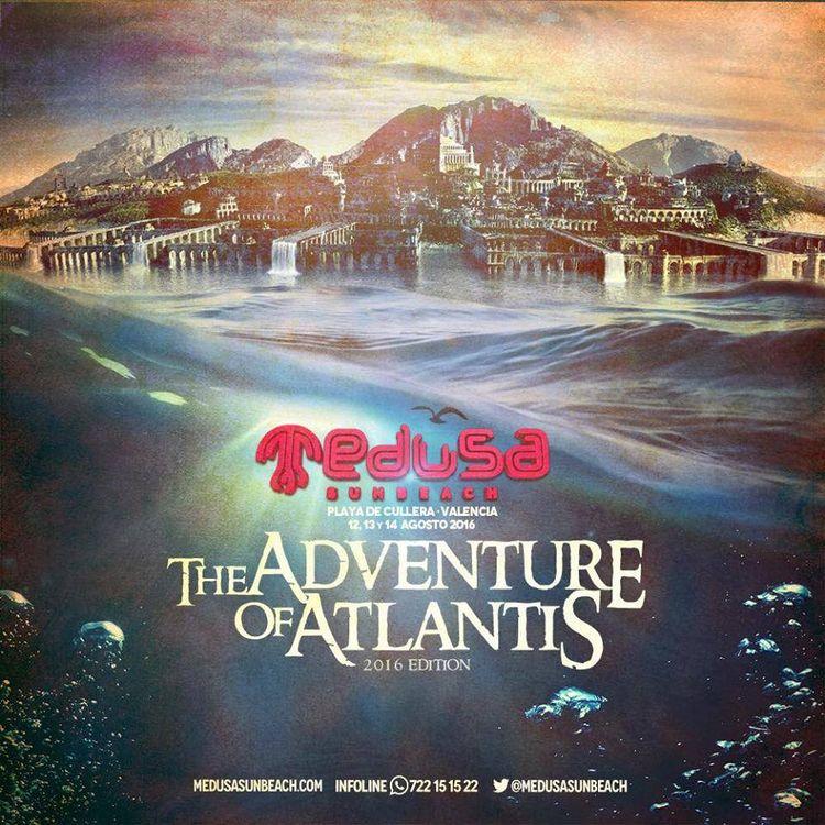 The Adventure Of Atlantis inunda Medusa 2016