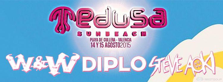 Medusa Sunbeach Festival cierra su cartel con W&W, Diplo y Steve Aoki