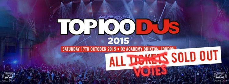 Top 100 Djs 2015: gana en popularidad, pierde en credibilidad
