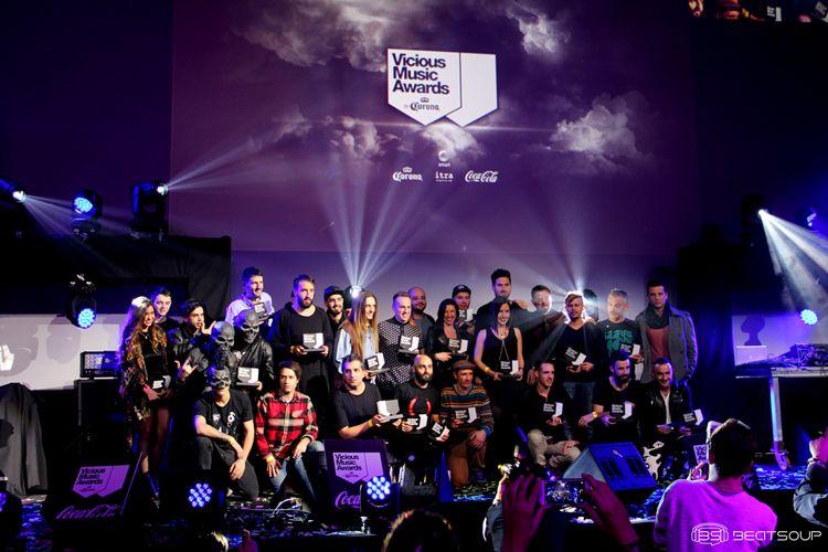 Vicious Music Awards by Corona 2015