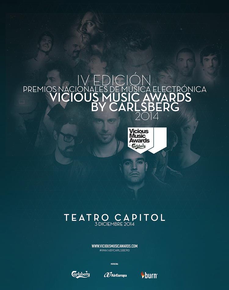 Vicious Music Awards by Carlsberg 2014