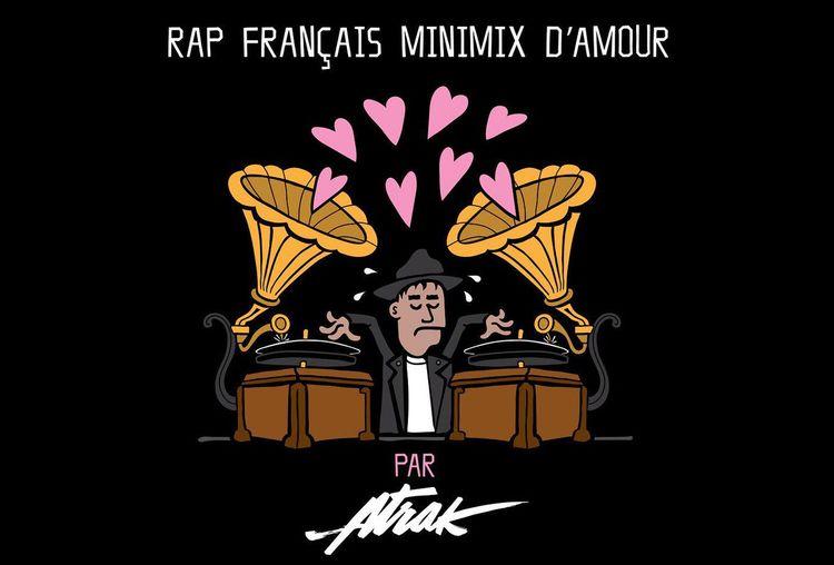 A-Trak rinde homenaje a Francia en un minimix