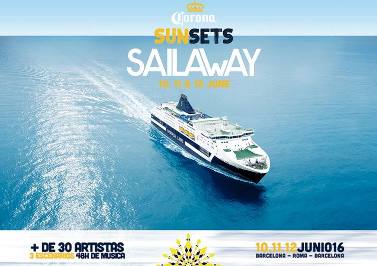 Corona Sunsets Sail Away Festival suma nuevos tripulantes