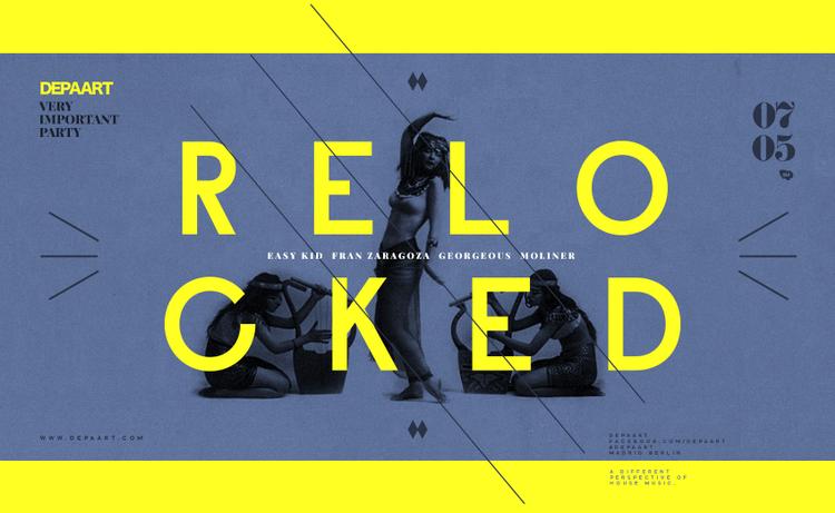 Relocked: Depaart se encierra para un evento exclusivo