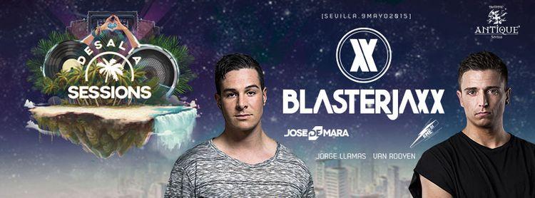 Blasterjaxx llega a Sevilla con Desalia Sessions