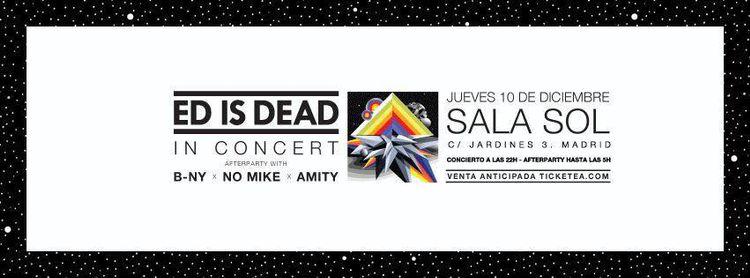 Ed Is Dead presenta 'Change' en directo en El Sol
