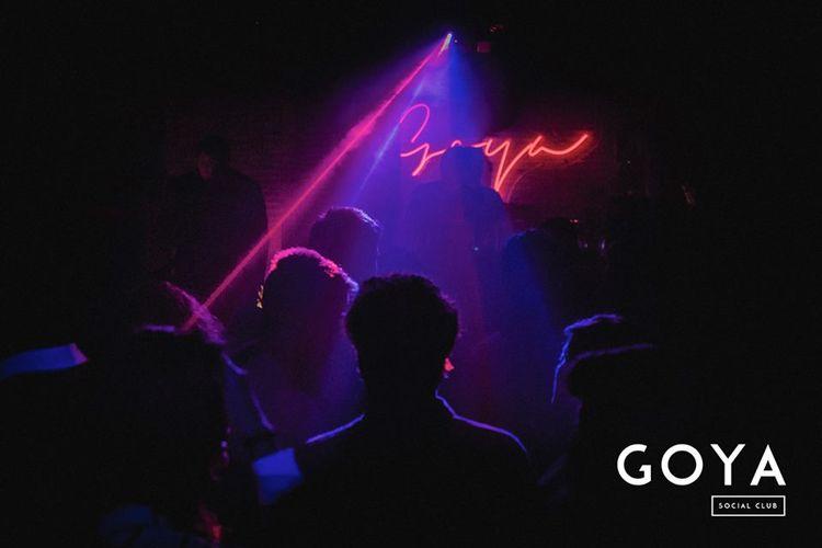 Disciples en el primer aniversario de Goya Social Club