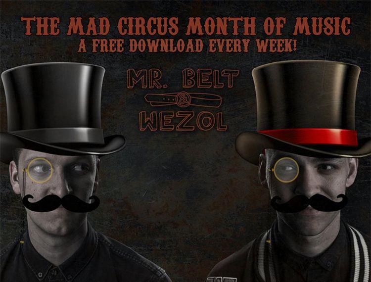 El 'circo loco' de Mr. Belt & Wezol regaló música un mes