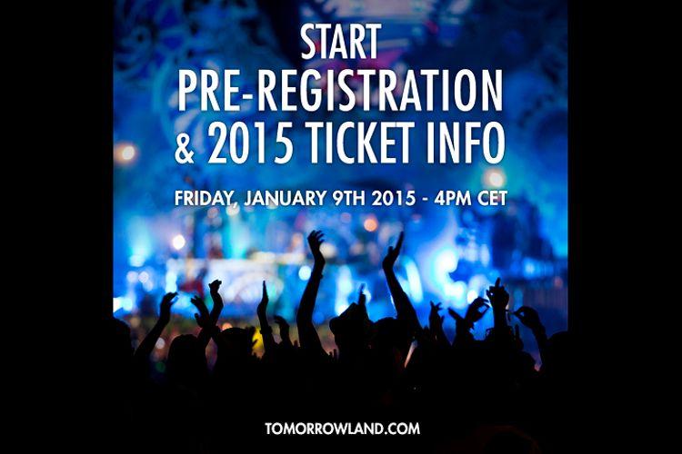Mañana comienza el pre-registro de Tomorrowland con premio a la rapidez