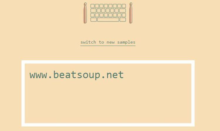 Typedrummer, convierte tus oraciones en beats
