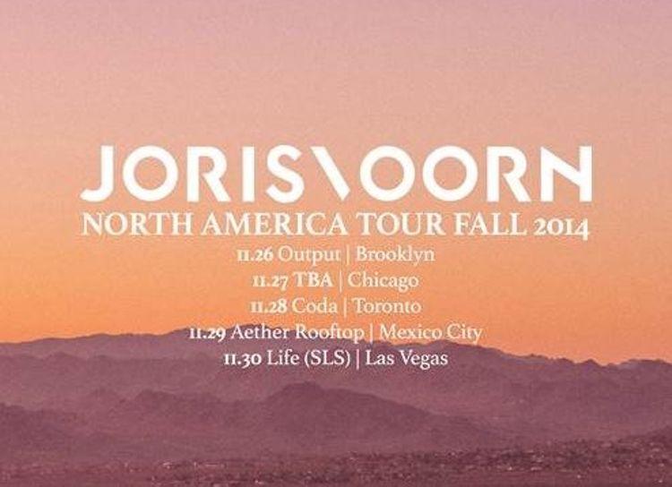 Noche 100% underground con Joris Voorn en Chicago