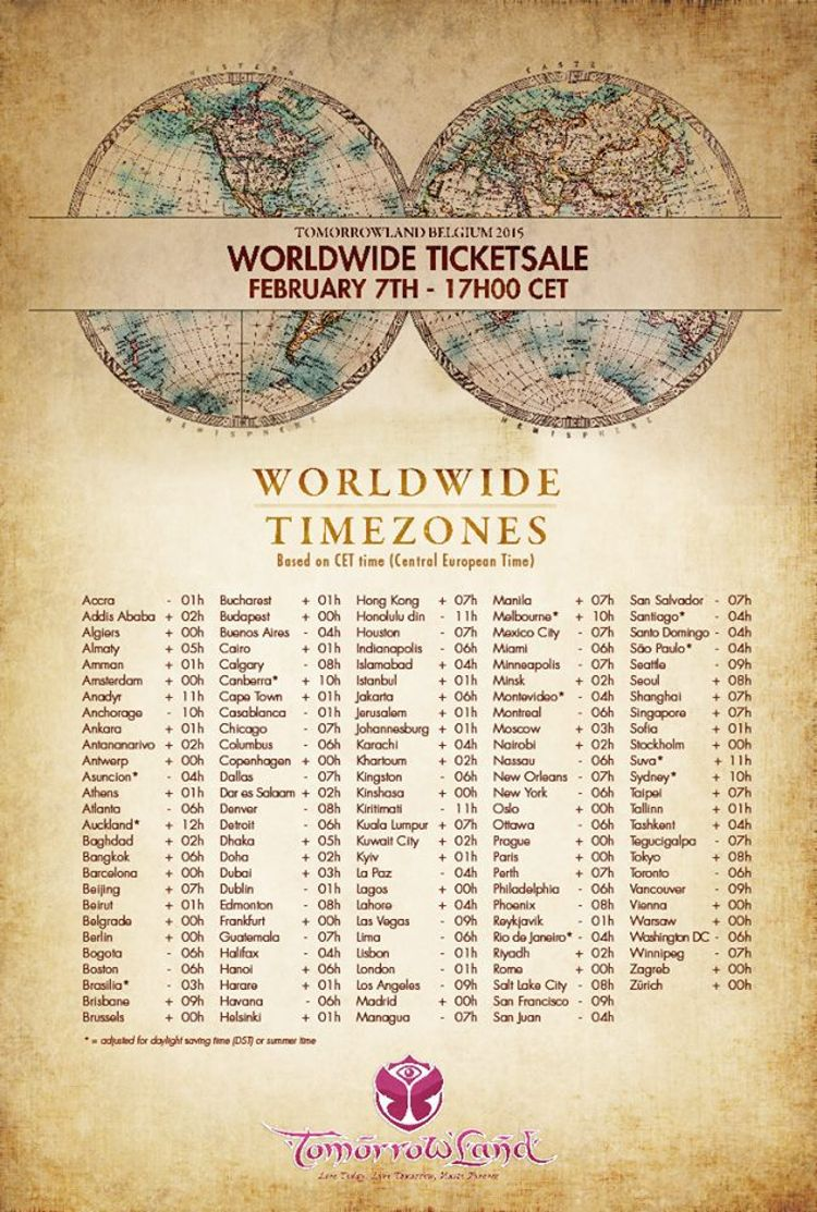 worldwidetimezones