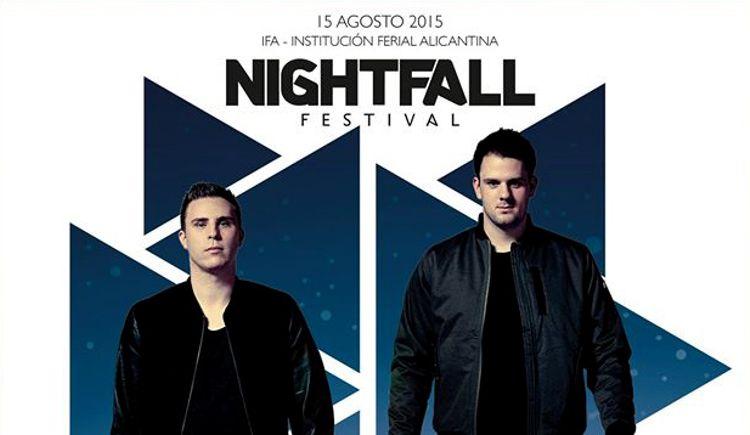 W&W será el headliner de Nightfall Festival