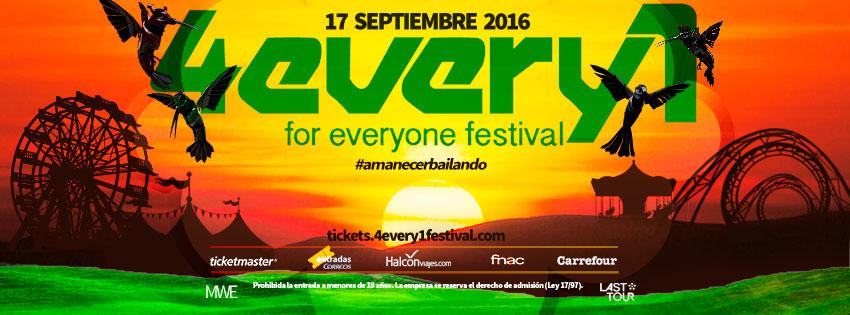 """4every1 regalará el último """"amanecer bailando"""" del verano a Madrid"""