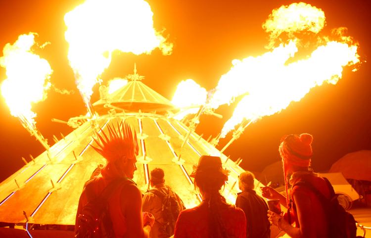 Burning Man, furia en el desierto