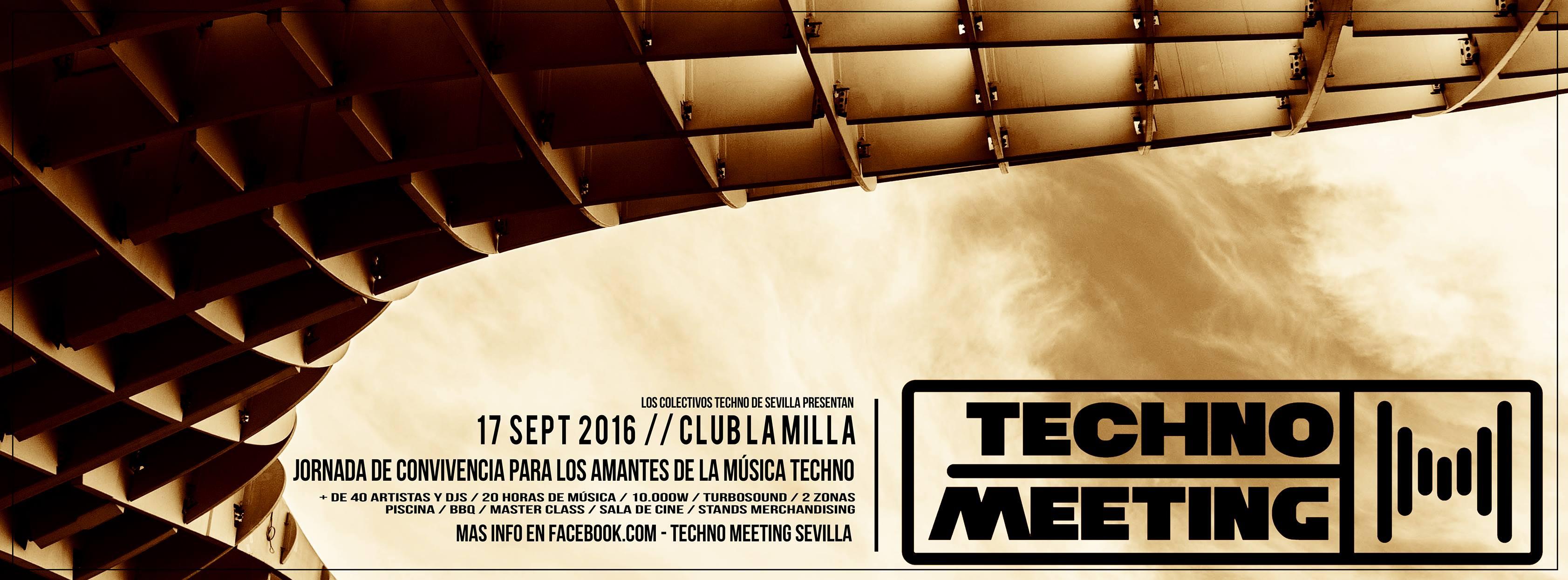 Techno Meeting Sevilla 2016 : Un lugar donde quedarse