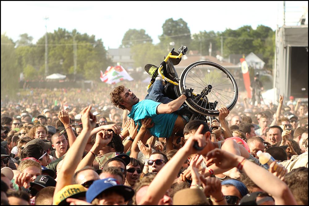 Fotos y vídeos: Los festivales y la música no tienen barreras