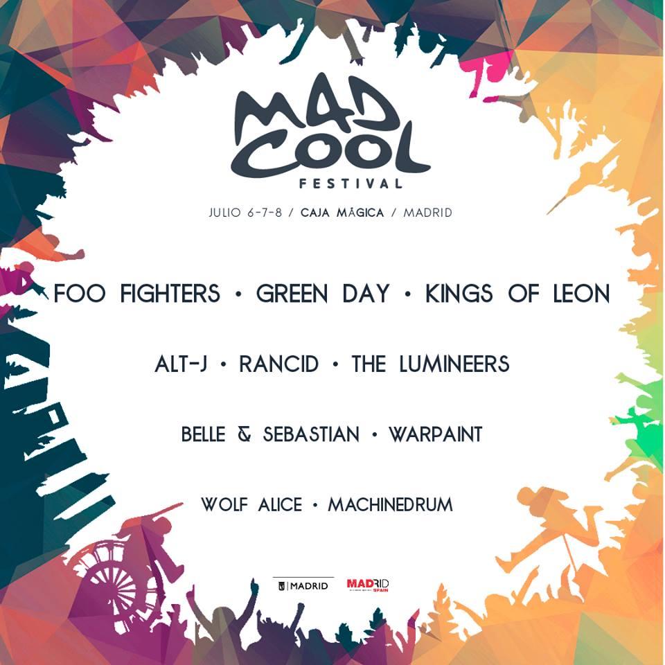 Mad Cool Festival sigue confirmando artistas de nivel para 2017