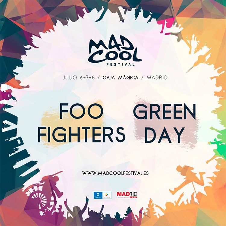 Mad Cool Festival - Foo Fighters - Green Day