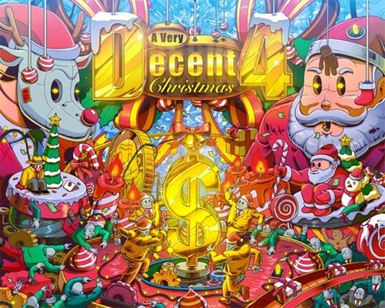 Mad Decent presenta nuevos villancicos: A Very Decent Christmas 4