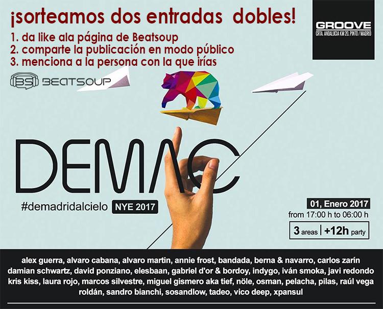 DEMAC da la bienvenida al nuevo año con talento madrileño [+SORTEO]