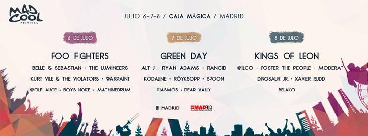 La electrónica llega a Mad Cool Festival 2017