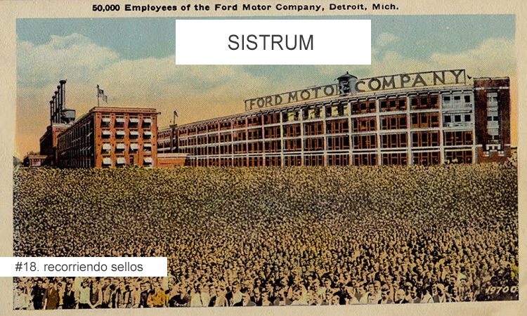 Recorriendo Sellos: Sistrum (Detroit)