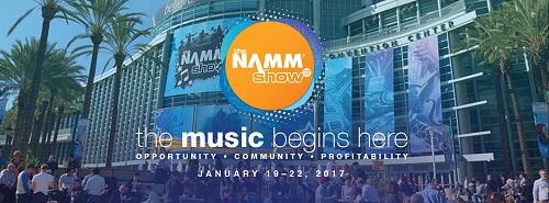 Namm Show 2017 : La tecnología musical del nuevo año